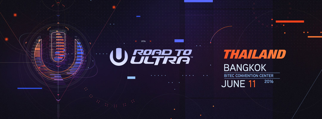 Subscribe for Road to Ultra Thailand Updates